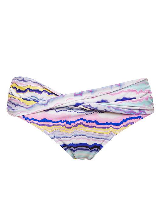 figleaves Mineral Stripe Twist Brief