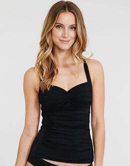 Seafolly Twist Halter Tankini Top