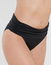 Azure Fold Over Ruched Brief