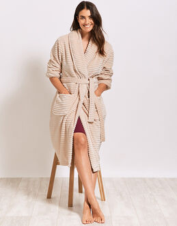 figleaves Super Soft Ripple Robe