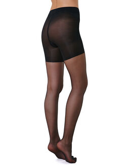 figleaves 15 Denier 2 Pack Control Top Tights