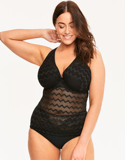 Curvy Kate Hi Voltage Plunge Tankini