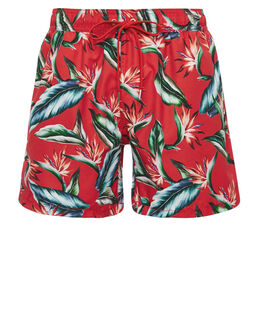 FGL Tropical Print Swim Short