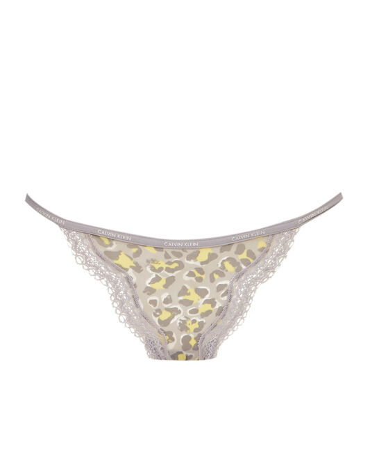 Calvin Klein Sheer Marquisette with Lace String Bikini