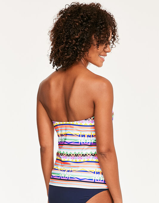 figleaves Maya Underwired Twist Bandeau Tankini Top
