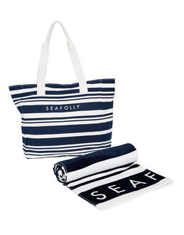 Seafolly Fringe Benefits Antique Stripe Pack
