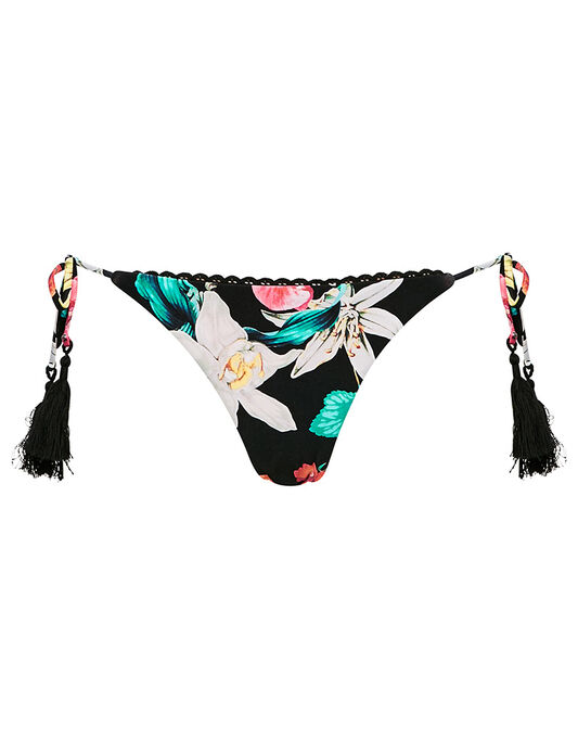 Seafolly Island Vibe Hipster Tie Side Brief