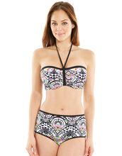Zodiac Underwired Padded Bandeau Bikini Top