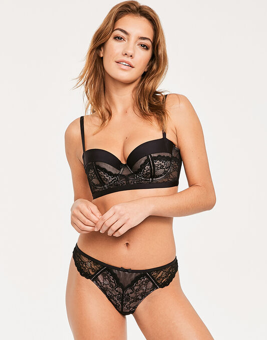 Morgan Balconette Bra
