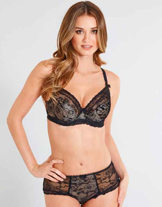 Susanna Underwired Bra With Side Support