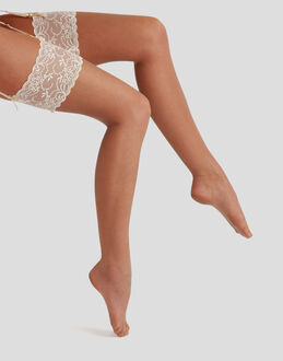 Charnos Hosiery 10 denier Bridal lace stocking
