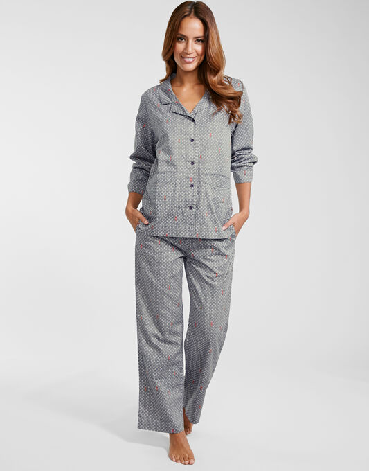 Luxury Cotton Sateen PJ Set