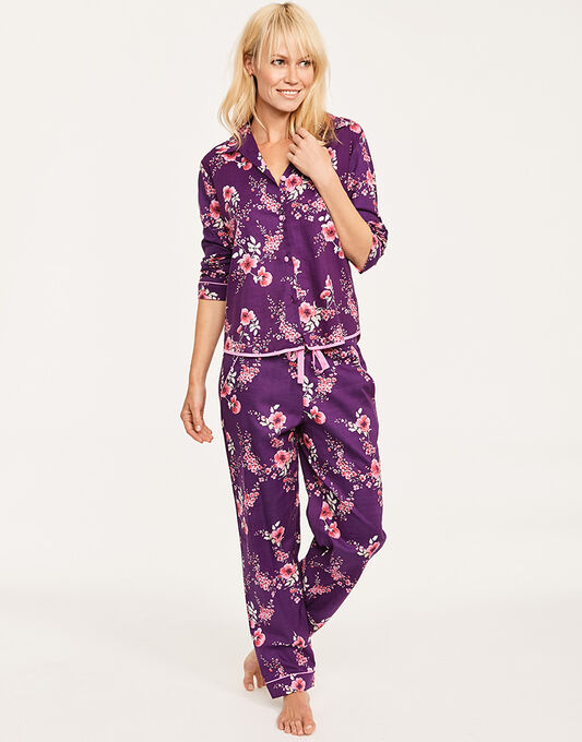 Anna Floral Print Top + Pant
