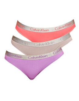 Calvin Klein Radiant Cotton 3PK Bikini
