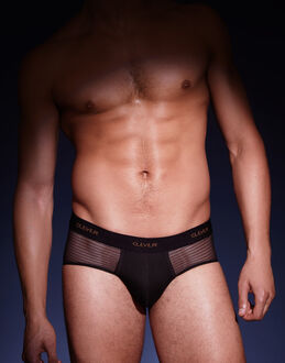 Clever Moda Mesh Bars Brief