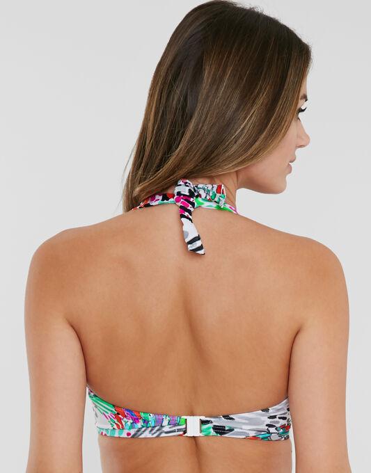 Freya Swim Mardi Gras Underwired Banded Halter Bikini Top