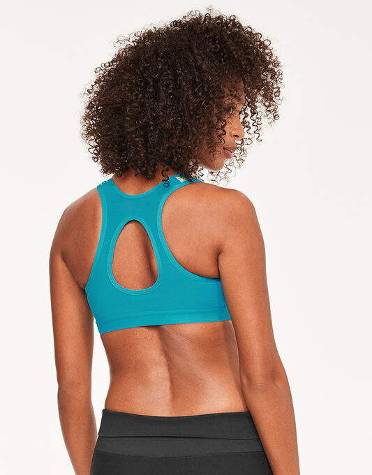 Shock Absorber Zipped Sports Bra