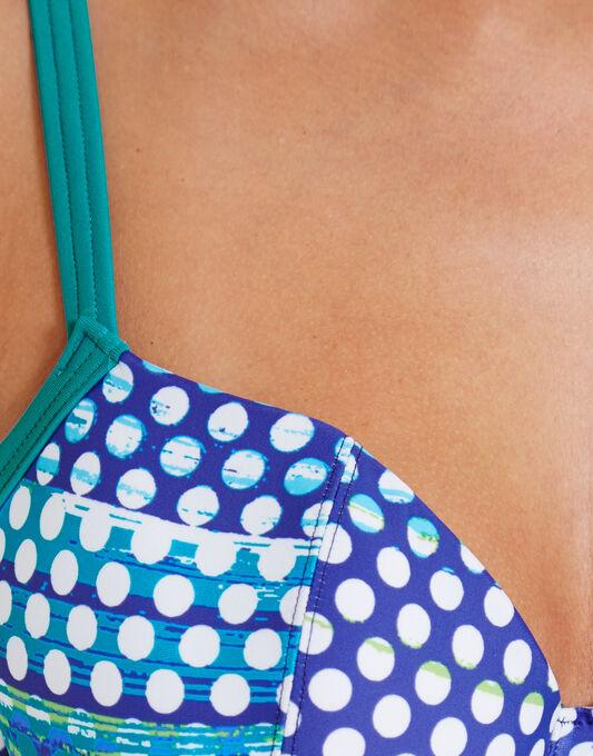 figleaves Long Island Underwired Plunge Bikini Top