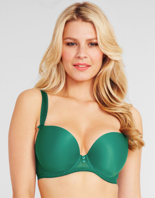 Deco Honey Underwired Moulded Plunge Bra