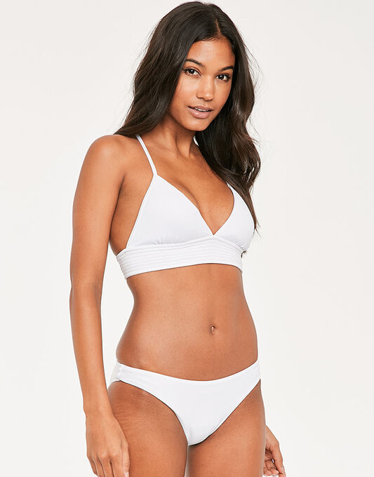 Seafolly Quilted Fixed Triangle Bikini Top
