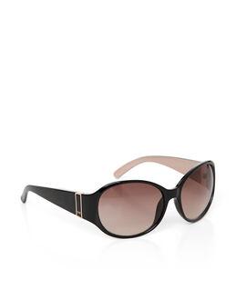Karen Millen Round Plastic Glam Sunglasses