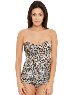 Fantasie Caya Underwired Bandeau Flared Tankini