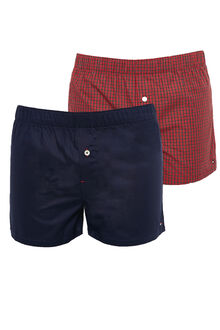 Tommy Hilfiger 2 Pack Woven Boxer Gift Box