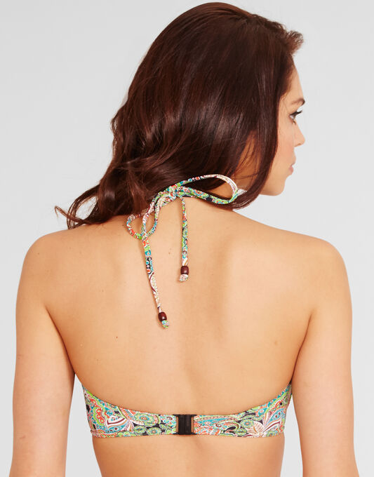Freya Swim Woodstock Underwired Bandless Triangle Bikini Top