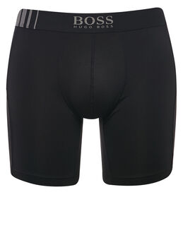 BOSS Black Microfibre Long Leg Cyclist Trunk