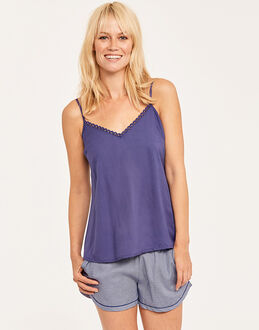 Cyberjammies Connie Modal Cami + Spot Print Short