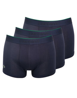 Lacoste Essential 3 Pack Supima Cotton Trunk