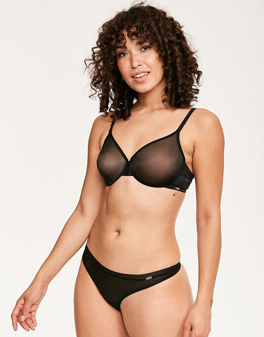 Gossard Glossies Sheer Bra