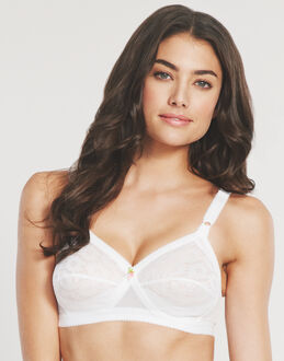 Playtex Everyday Classics And Cross Your Heart All Over Lace Non-wired Bra