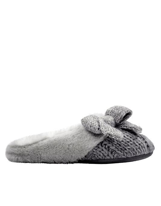 Knit Mule Slipper