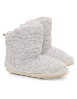 Ruby&Ed Dove Cloud Boot Slipper