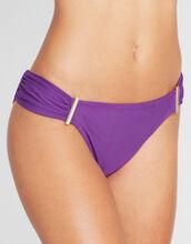 Jewel Ruched Trim Bikini Brief