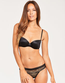 Calvin Klein CK Black Obsess Balconette Lightly Lined