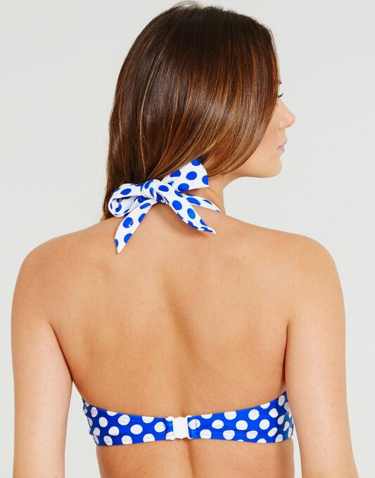 figleaves Monroe Underwired Padded Halter Bikini Top