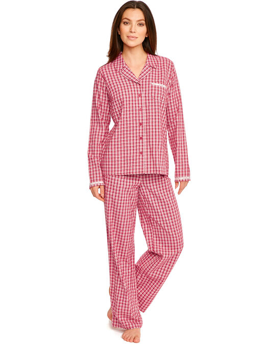 Calvin Klein Flannel Long Sleeve PJ Top