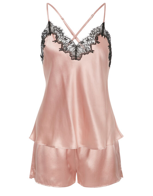 figleaves Lana Pure Silk Cami and Short Set