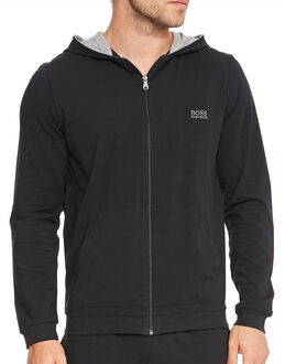 BOSS Black Mix & Match Jersey Hooded Jacket