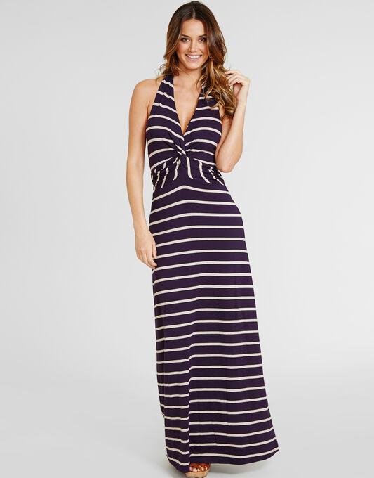 figleaves Rowan D-G Halter Maxi Dress