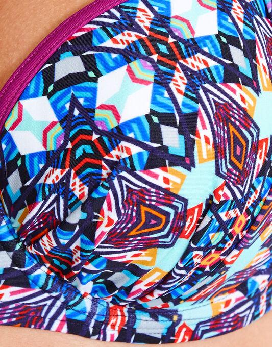 figleaves Tiki Underwired Padded Halter Bikini Top
