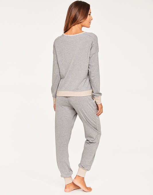 DKNY New Signature Top & Jogger PJ