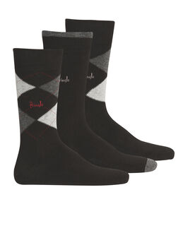 Pringle Argyle Men's 3 Pack Socks