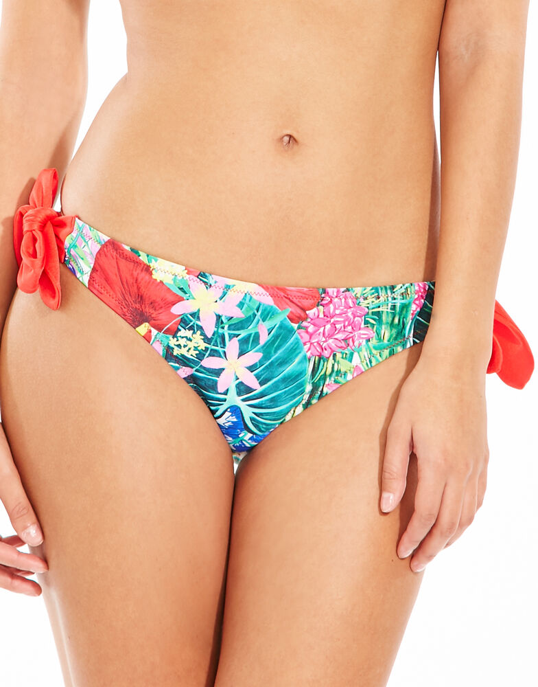 Jungle Fever Side Tie Brief