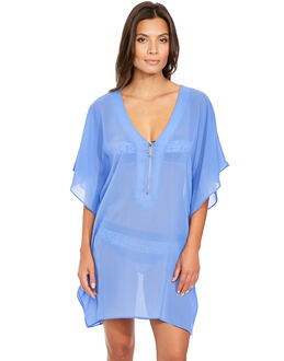 Michael by Michael Kors Draped Solids Cover Up Tunic