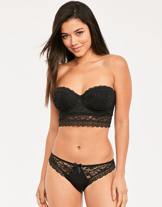 Rebel Strapless Longline Bra