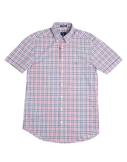 Gant Backspin Poplin Check Short Sleeve Shirt
