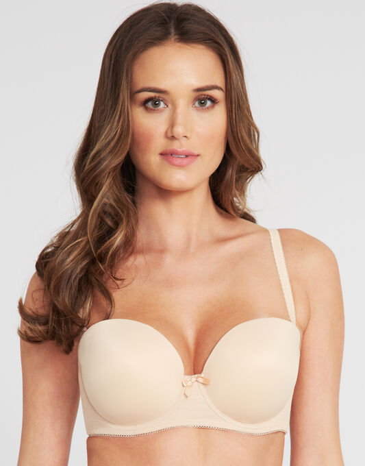 Deco Strapless Moulded Bra